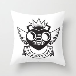Royal Stereotypes Throw Pillow