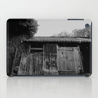 college iPad Cases featuring College Lean2 by Luke Watson