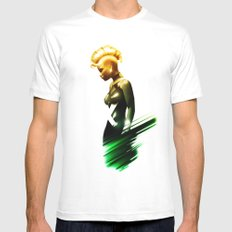 Storm Mens Fitted Tee White MEDIUM
