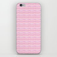 my mad fat diary iPhone & iPod Skins featuring Hooping Mad by Catrin Eluned