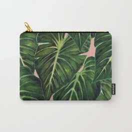 Tropical II Coral Carry-All Pouch