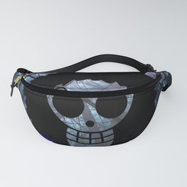 Pirate flag with Dark Forest 2 Fanny Pack