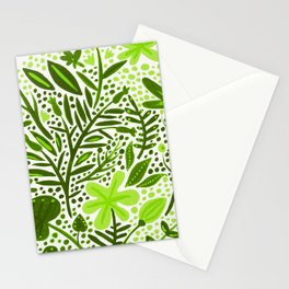 Garden – Lime Green Palette Stationery Cards