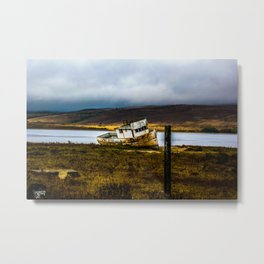 Point Reyes off course Metal Print