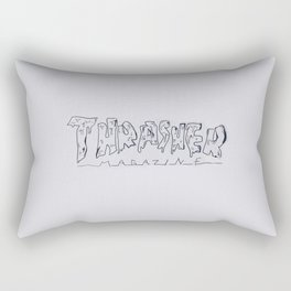 GRIME THRASH Rectangular Pillow