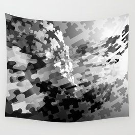 Picture of a Puzzled Mind Wall Tapestry