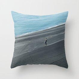 Southern coast views Throw Pillow