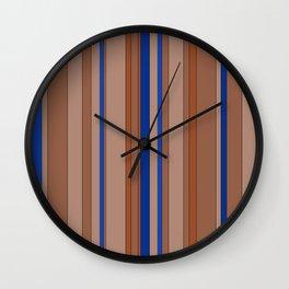 Color's Waterfalls_Beige Wall Clock