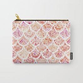 UNDERTOW Coral Mermaid Scales Carry-All Pouch