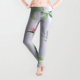Cactus Watercolor Pattern 8 Leggings
