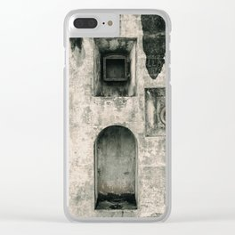 Quattro Niches, military artillery fort Clear iPhone Case