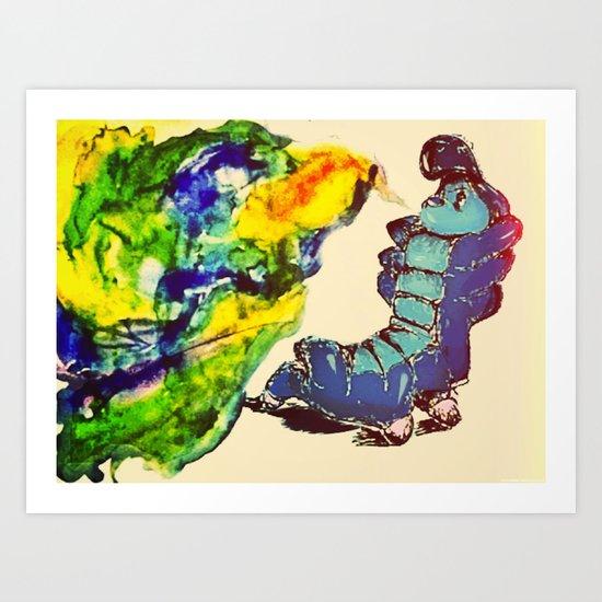 caturpillur Art Print