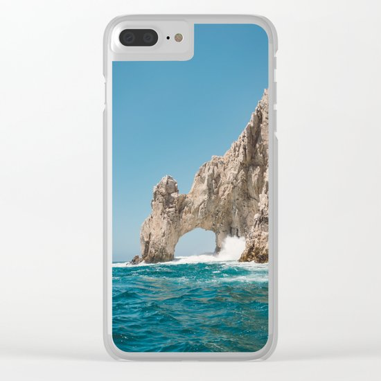 Arch of Cabo San Lucas Clear iPhone Case