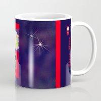 gumball Mugs featuring Super Moon Gumball Machine by Mel Moongazer