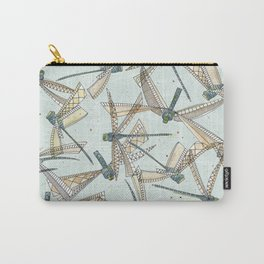 watercolor dragonflies Carry-All Pouch