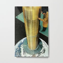 Ctrl alt canc Metal Print