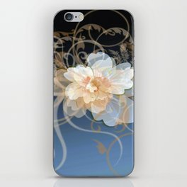 Beautiful Abstract Floral iPhone Skin