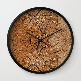 Tree (pattern) Wall Clock