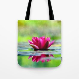 Lily of the Water Tote Bag