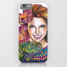 Lotus beauty iPhone Case
