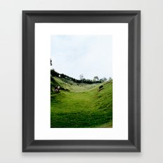 PLAINS Framed Art Print