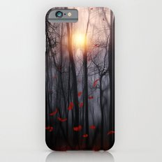 Red feather dance  -  by Viviana Gonzalez iPhone 6 Slim Case