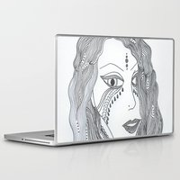 gypsy Laptop & iPad Skins featuring Gypsy by Esther Knox