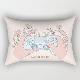 Game On, Bitches Rectangular Pillow