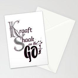 Kraaft Shaak on the GO! Stationery Cards
