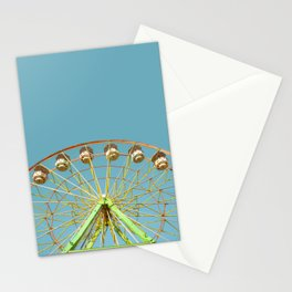 Ferris wheel ride on a sunny day at the Marin County Fair in San Rafael Stationery Cards