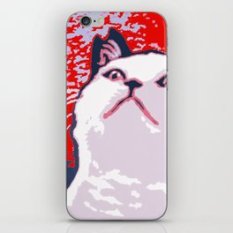 Obey the Cat iPhone Skin