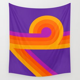 Purple Looper Wall Tapestry