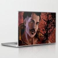 "dragon age inquisition Laptop & iPad Skins featuring Dragon Age Inquisition - Dorian Pavus - Thorn by Barbara ""Yuhime"" Wyrowińska"