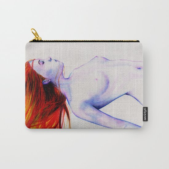 Brave (Red version) Carry-All Pouch