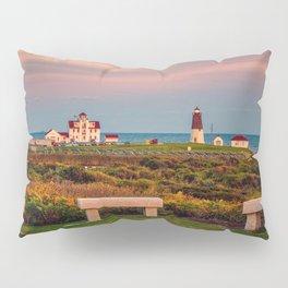 Point Judith Lighthouse, Narragansett, Rhode Island Pillow Sham