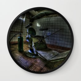 The real seat of horror Wall Clock