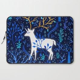 Deericorn In Blue Laptop Sleeve