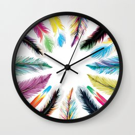 The Tribe Wall Clock