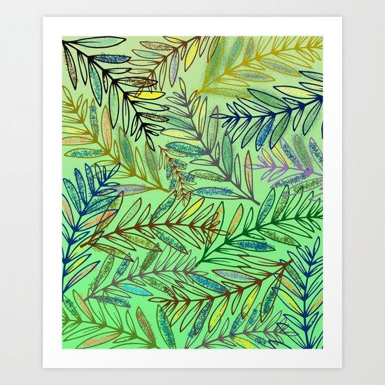 pattern 18 Art Print