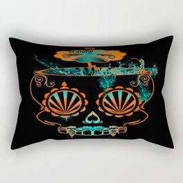 Candy skull  Rectangular Pillow