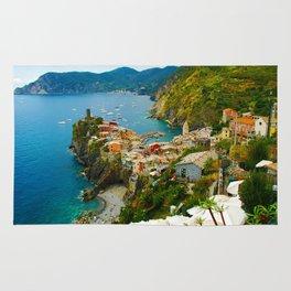 Vernazza Italy - Italian Riviera Rug