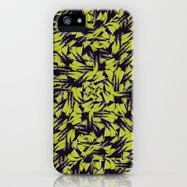 Modern Abstract Interlace iPhone Case
