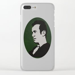 John Fante Painting Clear iPhone Case