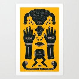 Raise yr Hands Art Print