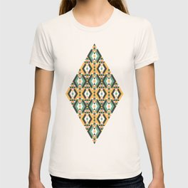 Orange Aztec T-shirt