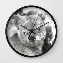 Animals and Art - Koala Bear Wall Clock