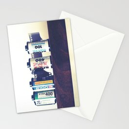 film cartridges old school (film photograph) Stationery Cards