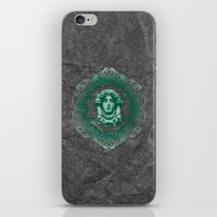 haunted mansion iPhone & iPod Skins featuring Haunted Mansion - In Regions Beyond Now by Joel Dickinson