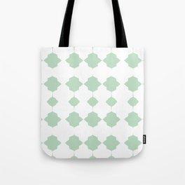 Minty_Geo_Love_ Tote Bag