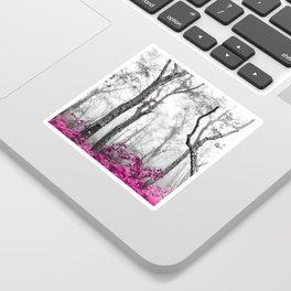 Princess Pink Forest Garden Sticker